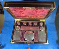Georgian  Rosewood Brassbound Vanity Box (21 of 34)