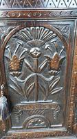 Carved Oak Wall Cupboard (2 of 8)