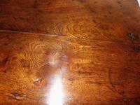 Georgian Elm Pad Foot Side Table (6 of 7)