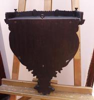 Burmese Carved Wall Bracket Hardwood 1860 (free Shipping to Mainland England) (7 of 12)