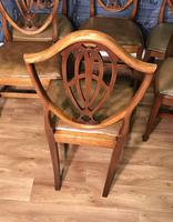 Quality Set of Eight Mahogany Dining Chairs (2 of 18)