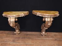 Antique French Console Tables - Gilt Louis XVI (3 of 10)