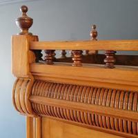 Large Edwardian Pine Chinoiserie Style Dresser (5 of 16)