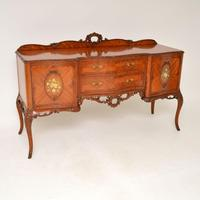 Antique French Style Walnut Server Table (10 of 11)