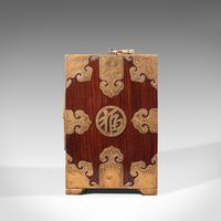 Antique Collector's Box, Chinese, Rosewood, Decorative Specimen Case c.1920 (5 of 12)