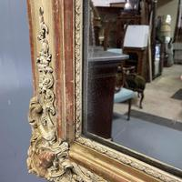 Very Large French Paint & Gilt Mirror (6 of 9)