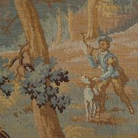 Antique Verdure Tapestry, French, Decorative Panel, Wall Covering, Victorian (3 of 12)
