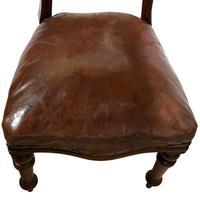 Set of 8 Good Quality Victorian Mahogany Balloon-Back Dining Chairs (4 of 8)