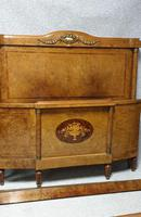 Fab Burr Walnut French Double Bed (7 of 9)