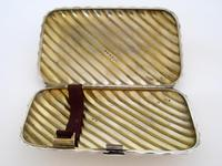 Victorian Silver Cigar Case with Spiral Form Body (3 of 7)
