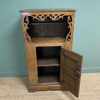 17th Century Oak Country House Antique Cupboard (4 of 7)