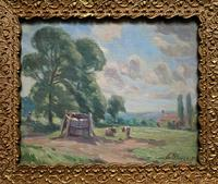 William Francis Burchell Exhibited Impressionist Oil Painting (2 of 12)