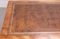 19th Century Victorian Satinbirch Writing Desk (8 of 9)