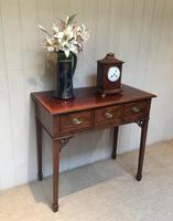 Inlaid Mahogany Side Table (4 of 10)