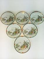 Beautiful Hand Painted Japanese Eggshell Porcelain Tea Set c1905 (11 of 17)