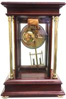 Howard Miller Signature Series Mantel Clock visible pendulum 4 Glass Mantle Clock (7 of 12)