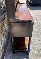Antique Georgian Oak Potboard Dresser (9 of 28)