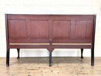 Antique George III Oak Settle Bench (10 of 10)