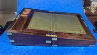 Victorian Brassbound Rosewood Writing Slope (11 of 20)