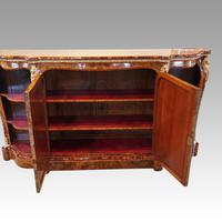 Victorian Inlaid Walnut Side Cabinet (5 of 17)