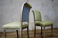 Pair of French Painted Louis XVI Style Side Chairs (8 of 12)