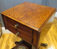 Plum Pudding Mahogany Ladies Work Table c.1830 (4 of 6)