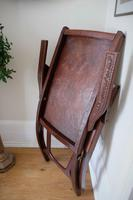 Peruvian Tooled Saddle Leather Folding Armchair (13 of 13)