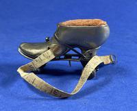 Victorian Brass Roller Skate Tape Measure