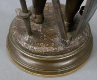 Pair of Bronzes by J. Boese (5 of 6)