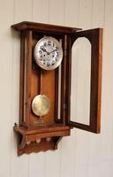 Oak Arts & Crafts Striking Wall Clock (7 of 7)