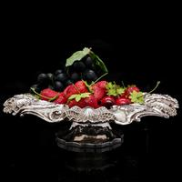 Georgian Solid Silver Tazza / Dish / Bowl - Charles Reily & George Storer 1833 (24 of 27)