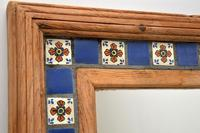 Large Mexican Tiled Mirror Vintage 1950's (8 of 10)
