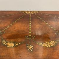 18th Century Decorated Demi-lune Console Table (11 of 11)