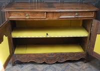 French Oak Buffet / Dresser Base (7 of 9)