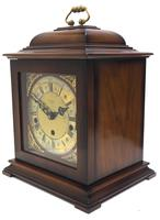 Incredible Sold Mahogany Mantel Clock Westminster Chime Triple Musical Bracket Clock by St James London (6 of 11)