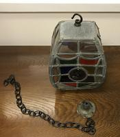Arts & Crafts Glass Lantern (3 of 6)