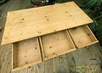 Large Old Pine Dresser Base Sideboard / Cupboard /  TV Stand - We Deliver (6 of 9)
