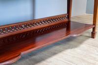 Inlaid Mahogany Display Cabinet (6 of 9)