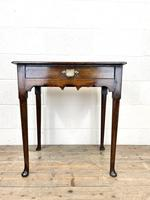 Small 18th Century Antique Oak Side Table (2 of 10)