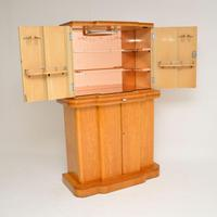 Art Deco 1920's Burr Maple & Walnut Cocktail Cabinet (13 of 13)