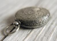 Antique Swiss Silver Women's Pocket Watch, Fancy Case, Fully Hallmarked c.1900 (2 of 10)