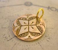 Antique Pocket Watch Chain Fob 1830s  Victorian 9ct Rolled Gold Queen Victoria Fob (4 of 5)