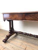 Antique William IV Mahogany Side Table (14 of 16)