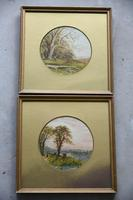 Pair of Watercolours Walter Charles Way (10 of 12)