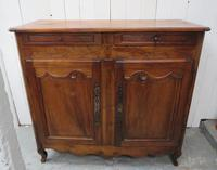 Antique Fruitwood Buffet Sideboard (13 of 13)
