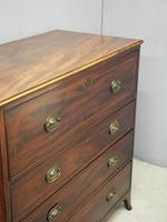 Inlaid Mahogany Secretaire Chest of Drawers (3 of 13)