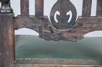 8 Victorian Jacobean Style Oak Dining Chairs (12 of 12)