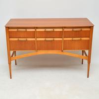 1950's Vintage Satinwood Sideboard (5 of 11)