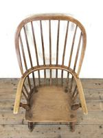 Antique Stick & Hoop Back Armchair (2 of 10)