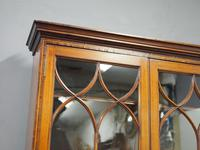 George III Inlaid Mahogany Cylinder Cabinet Bookcase (3 of 17)